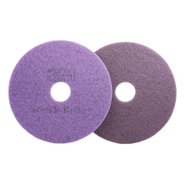 3M Scotch-Brite™ Diamant Maschinenpad Plus Violett Ø 410 mm