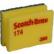 Produktbild: 3M Scotch-Brite™ Reinigungsschwamm 174/274