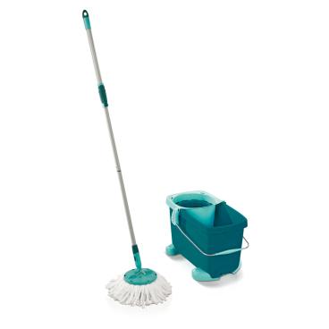 LEIFHEIT Clean Twist Mop Set mit Rollwagen, 3-teilig