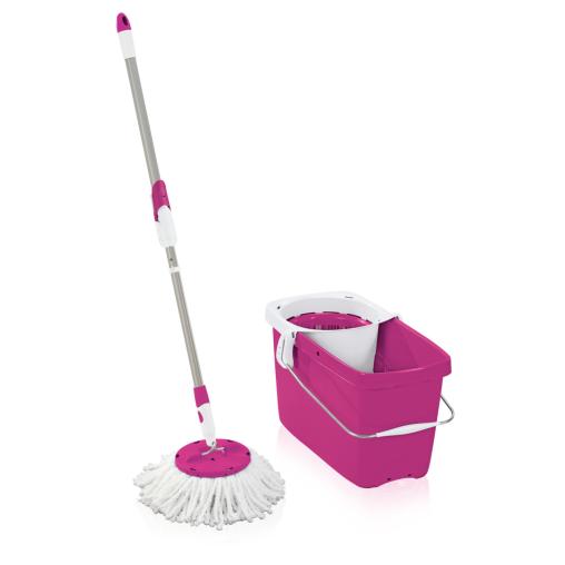 LEIFHEIT CLEAN TWIST Disc Mop Set, 3-teilig