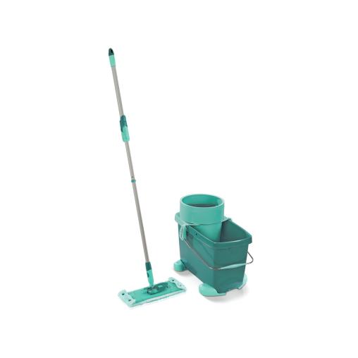 LEIFHEIT Clean Twist Bodenwischerset inklusive Rollwagen