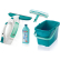 LEIFHEIT Dry & Clean Fenstersauger Set, 4-teilig