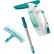 LEIFHEIT Dry & Clean Fenstersauger inkl. Ladegerät