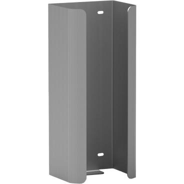 Halter f. 3 Reserve-Standardrollen Toilettenpapier Aluminium, mattsilber eloxiert