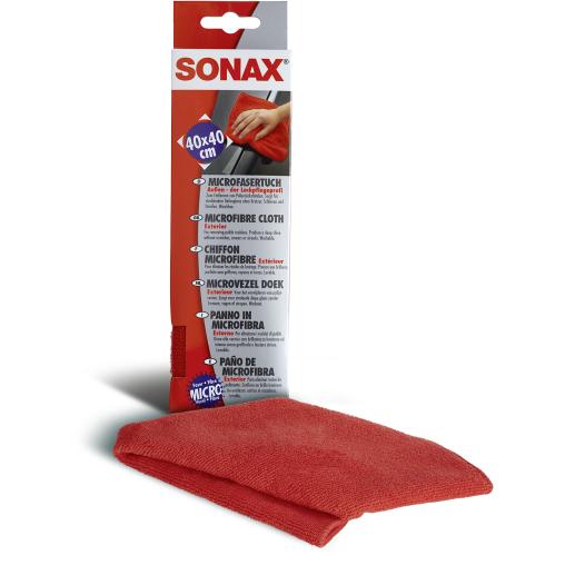 SONAX Microfasertuch Außen - der Lackpflegeprofi