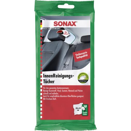 SONAX InnenReinigungsTücher für die Autoreinigung