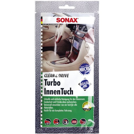 SONAX Clean&Drive TurboInnenTuch