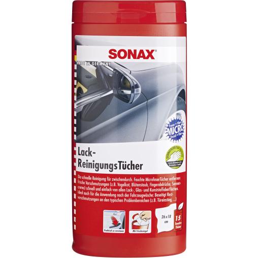 SONAX LackReinigungsTücher