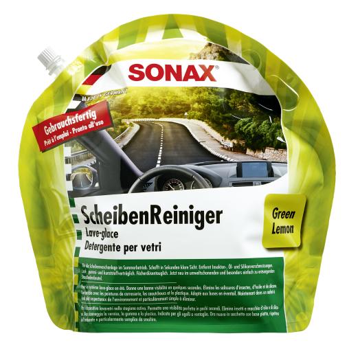 SONAX ScheibenReiniger Sommer Gebrauchsfertig Green Lemon