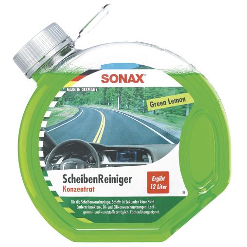 SONAX ScheibenReiniger Konzentrat Green Lemon