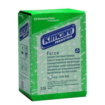 KIMCARE INDUSTRIE* Force Solvent Free Waschlotion 1 Karton = 2 Beutel á 3,5 Liter