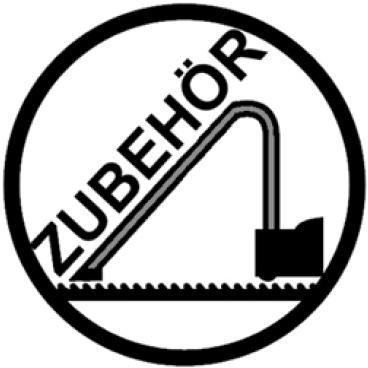 Nilco Schleifscheibe mittelfein 0100960