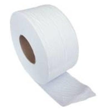 Jumbo-Toilettenpapier, Tissue, 2-lagig, hochweiß ½ Palette = 22 Pakete