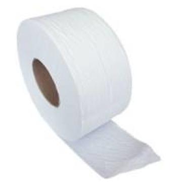 Jumbo-Toilettenpapier, Tissue, 2-lagig, hochweiß 1 Palette = 44 Pakete