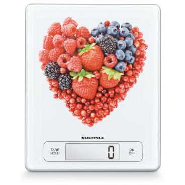 SOEHNLE Page Profi Fruit Hearts Digitale Küchenwaage