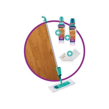 LEIFHEIT Care & Protect Bodenwischer Starter-Set, 5-teilig