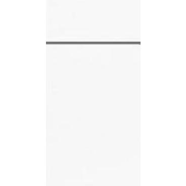 DUNI Duniletto Bestecktasche 1 Karton = 4 x 50 Stück, weiß