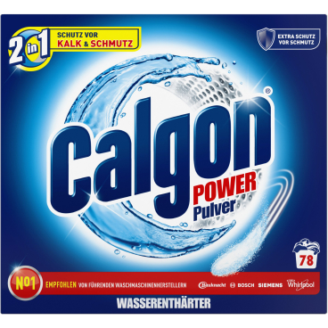 Calgon 2 in 1 Power Pulver 2,5 kg - Packung