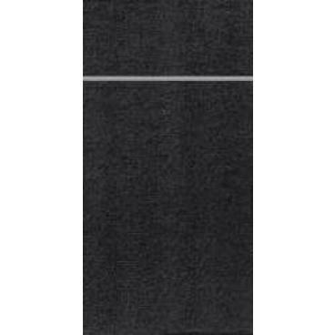 DUNI Duniletto Bestecktasche 1 Karton = 4 x 50 Stück, schwarz
