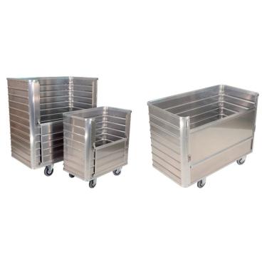 Novocal Aluminium-Transportcontainer GTWK 11, Volumen: 355 l