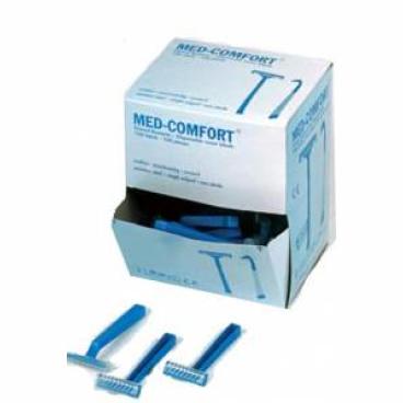 Med-Comfort® Einmalrasierer mit Klingenschutz 1 Box = 100 Stück