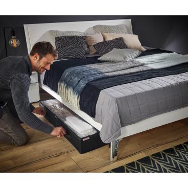 LEIFHEIT Unterbettkommode, groß Farbe: schwarz