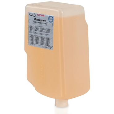 CWS Best Cream Seifencreme 1 Karton = 12 x 1000 ml - Flaschen, mild