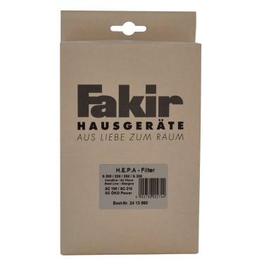 Fakir Bodenstaubsauger HEPA Filter HEPA Filter für Fakir Allergiker-Sauger