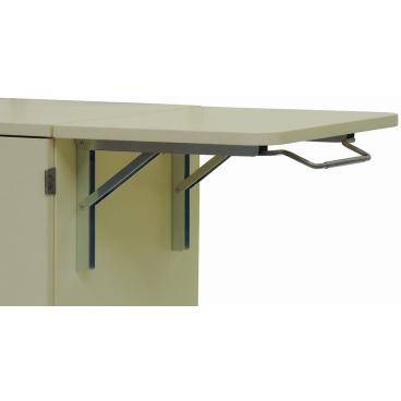 Schreibplatte abklappbar zur seitlichen Montage SPA 1