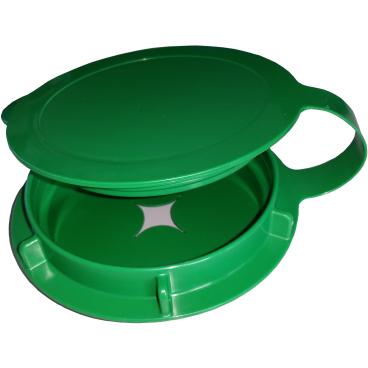 Lysoform Vliesdeckel soft, grün
