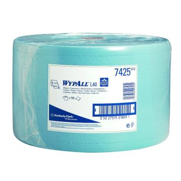 WYPALL* L40 Wischtücher 1 Paket = 1 Rolle à 750 Abrisse