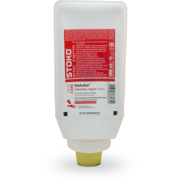 Stokolan® intensiv repair Hautpflegecreme unparfümiert 1 Karton = 9 x 1000 ml - Softflasche