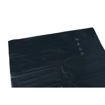 DEISS PREMIUM Abfallsack 120 L, schwarz, 100µ