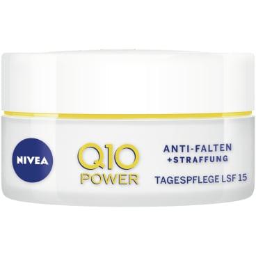 NIVEA® Q10 Power Anti-Falten + Straffung Tagespflege 50 ml - Dose
