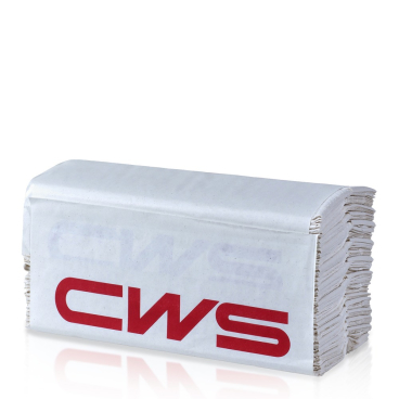 CWS Exklusiv Faltpapier, 2-lagig, hochweiß