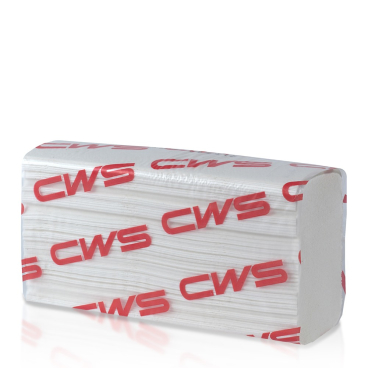 CWS Multifold Faltpapier, 2-lagig, weiß