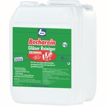 Dr. Becher Becharein Gläser Reiniger 5 Liter - Kanister
