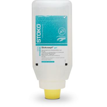 Stockhausen STOKOSEPT GEL® Händedesinfektion 1000 ml - Softflasche (1 Karton = 9 Flaschen)