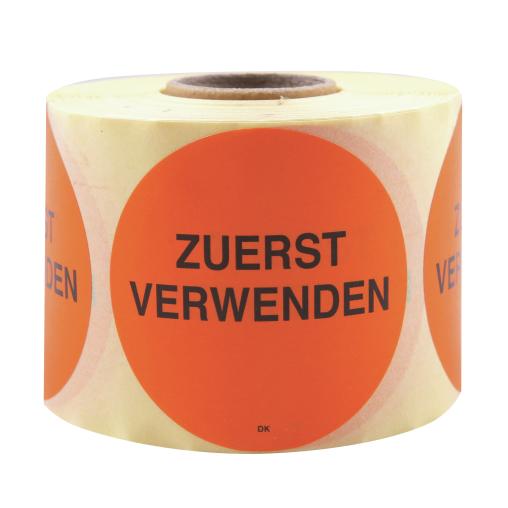 HYGOSTAR Zuerst verwenden Etikett, orange