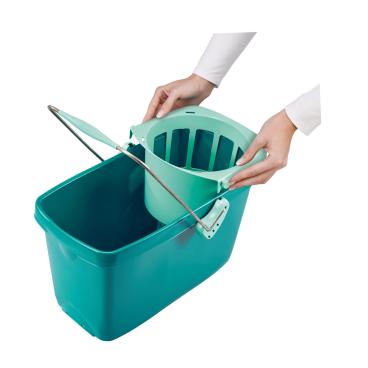 LEIFHEIT Clean Twist Mop Set mit Rollwagen, 3-teilig 1 Set
