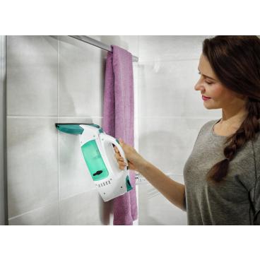 LEIFHEIT Dry & Clean Fenstersauger inkl. Ladegerät 1 Stück mit Stiel