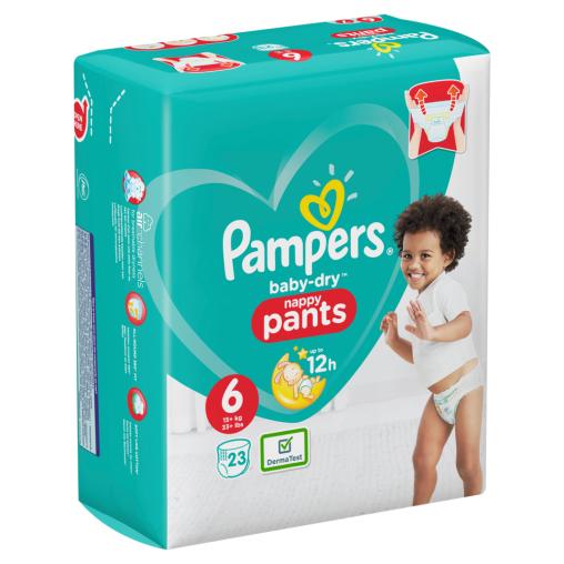 Pampers Baby Dry Pants Extra Large Windeln 15+ kg, Größe 6