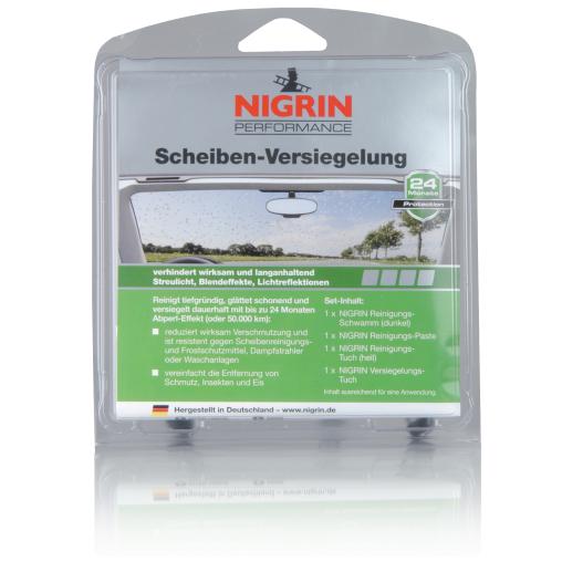 NIGRIN Performance Scheiben-Versiegelung Set, 4-teilig
