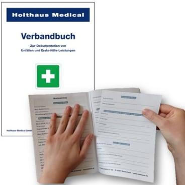 Verbandbuch DIN A5 gemäß BGI 511-1
