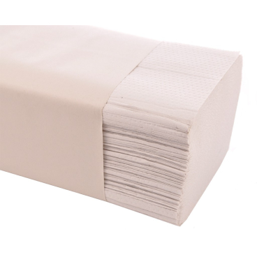 Papierhandtücher 25 x 23 cm, 1-lagig 1 Karton = 5.000 Blatt, hochweiß