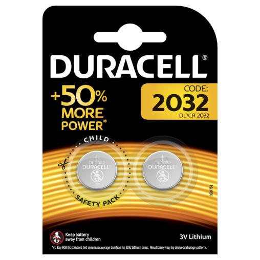 DURACELL Lithium 2032 Knopfzellenbatterie B2