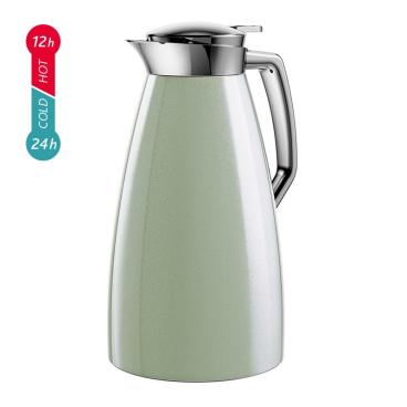 EMSA PLAZA Isolierkanne mit Quick Tip-Verschluss Farbe: grün