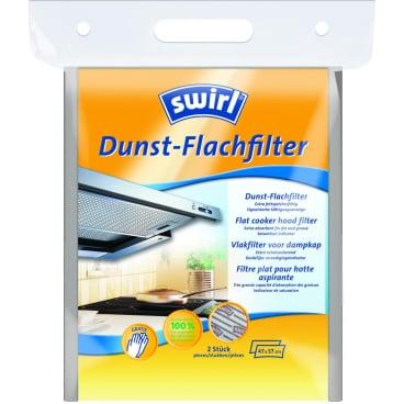 Swirl® Dunst-Flachfilter Format: 47 x 57 cm, 1 Packung = 2 Stück