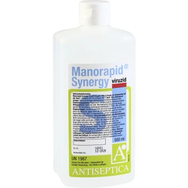 Antiseptica Manorapid Synergy Händedesinfektion 500 ml - Flasche