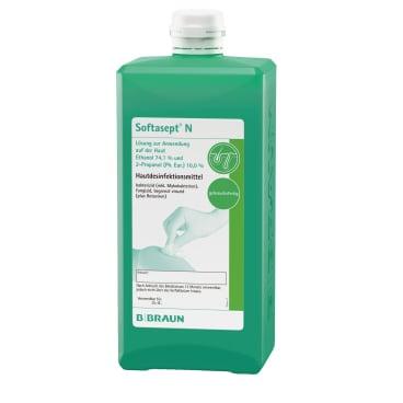 B. Braun Softasept® N Hautdesinfektionsmittel 1000 ml - Flasche